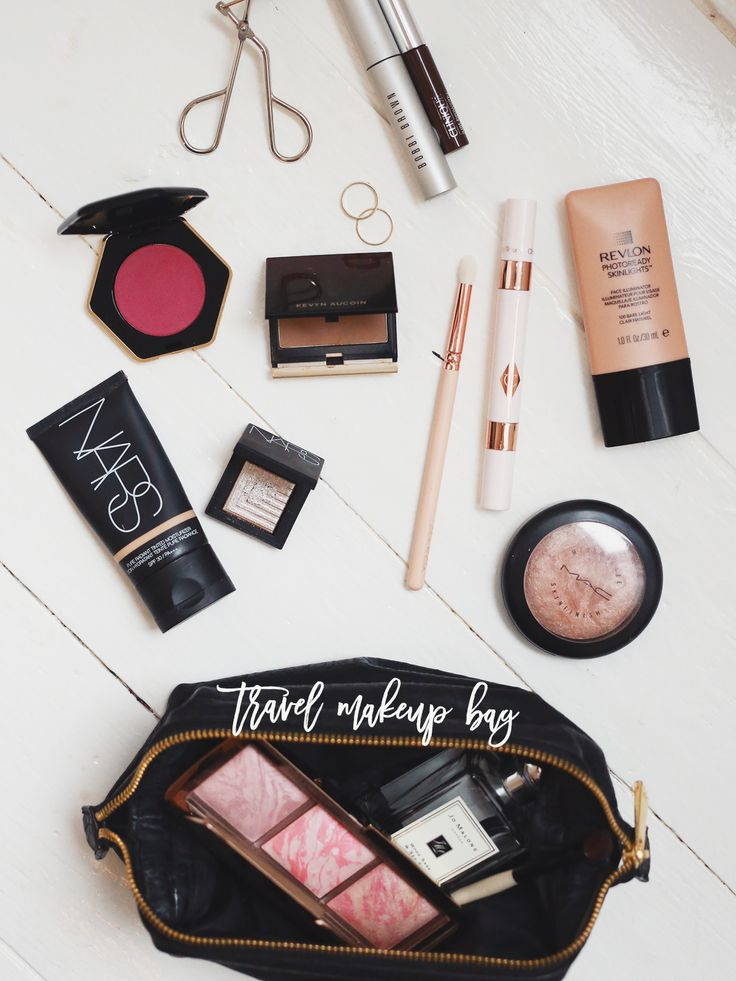 What's In My Travel Makeup Bag.