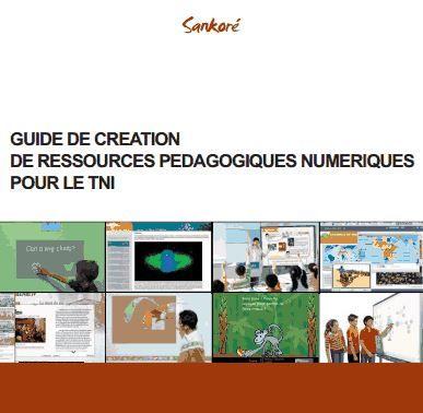 Guide Création de ressources pour le TBI (Sankoré)