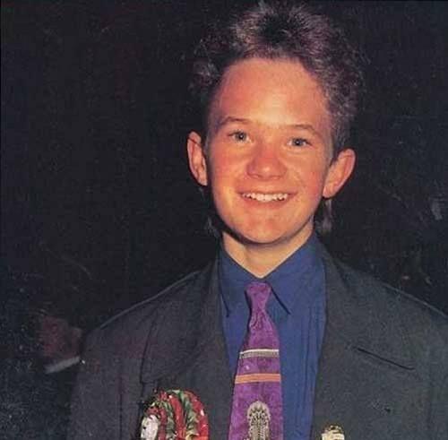 Neil Patrick Harris in youth