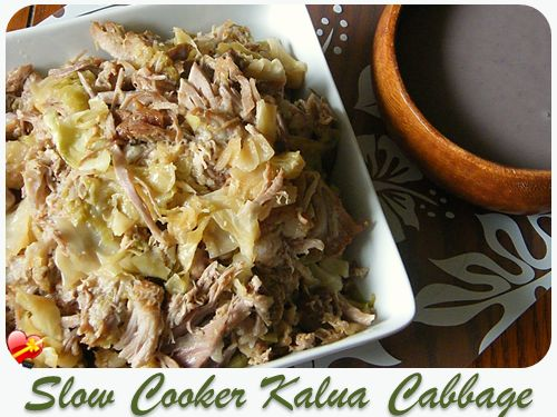 Delicious oven roasted Kalua Pig Cabbage recipe. Get more local favorites here.