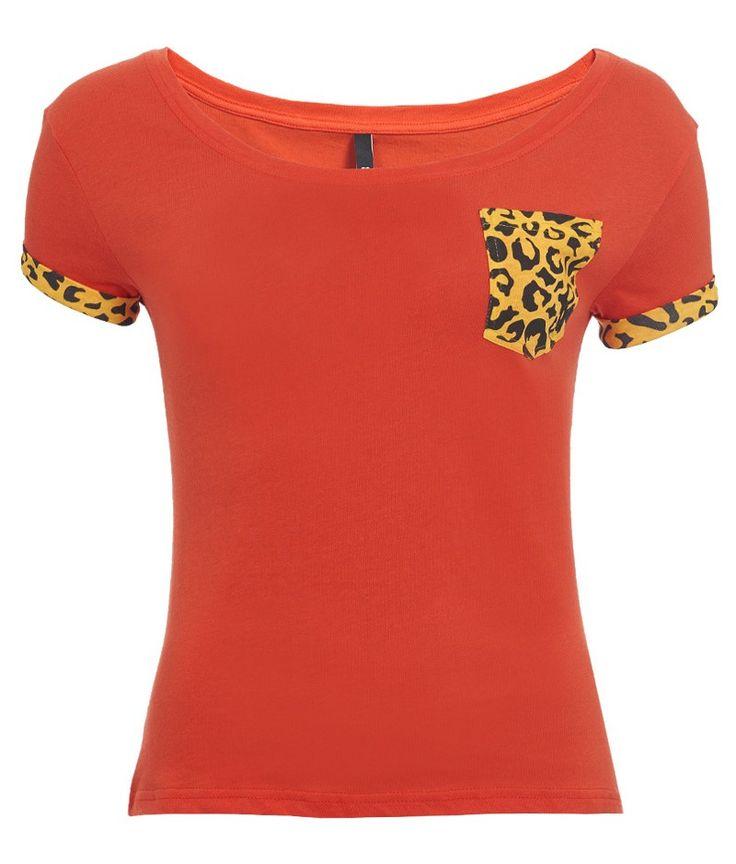 T-shirt Unkut Femme Cat Rouge - Unkut Shop Officiel