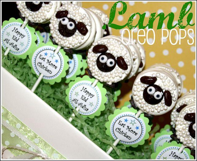 Lamb Oreo Pop