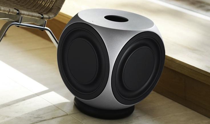 Bang & Olufsen Aluminum BeoLab 2 Powered Sub-Woofer Speaker 850watts
