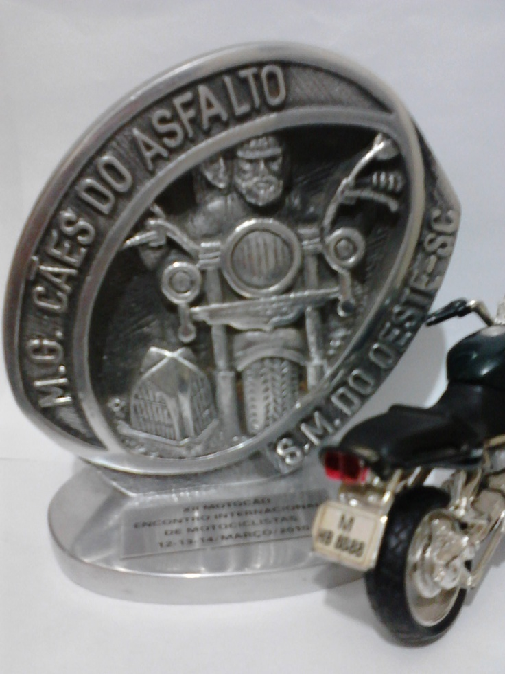Travel by motorcycle - São Miguel do Oeste SC - trophy