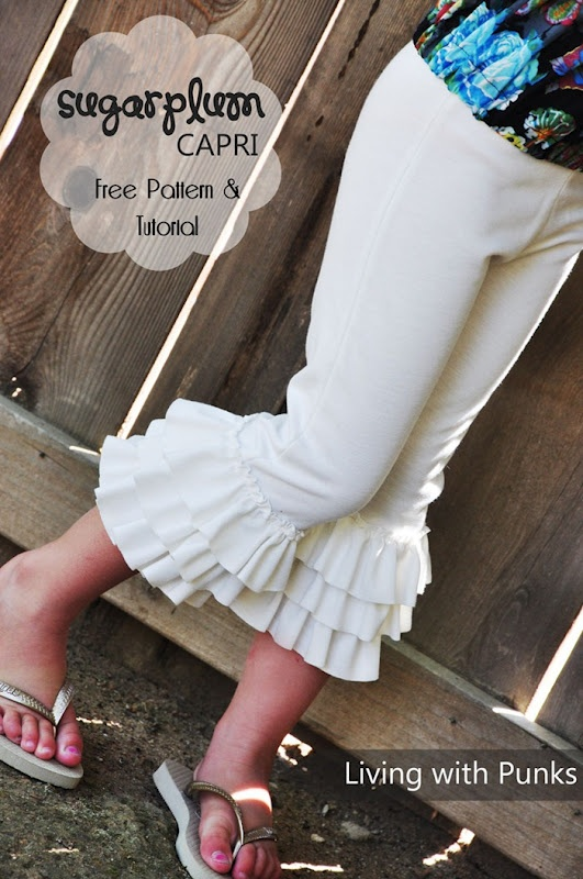 Ruffle pants tutorial