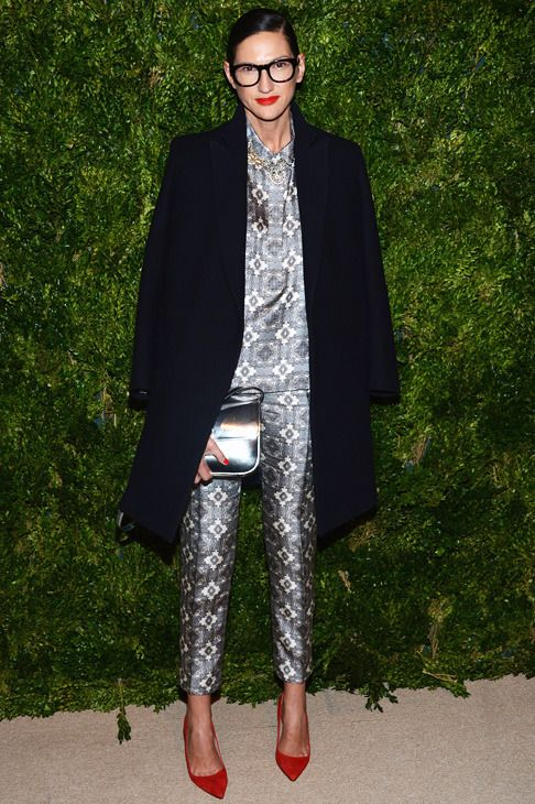 jenna lyons at the 2012 cfda/vogue fashion fund awards