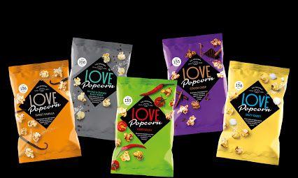 Love Popcorn updates their packaging