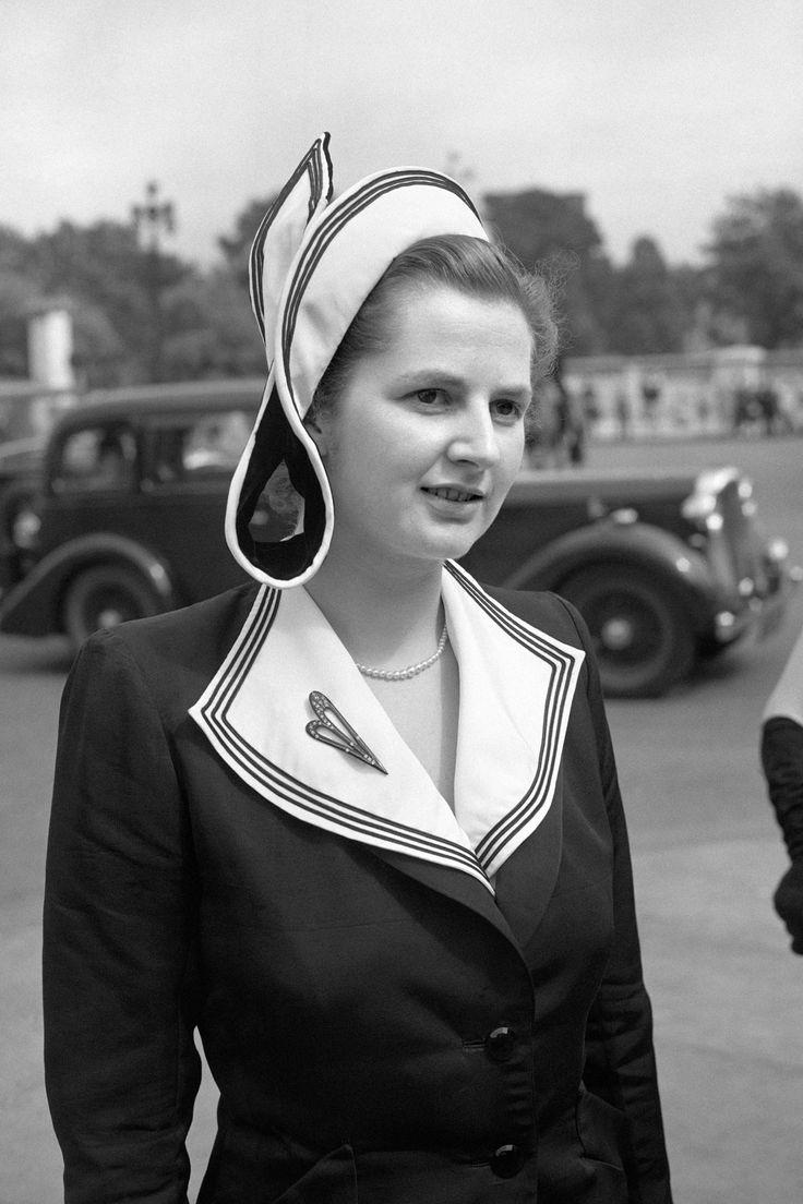 Margaret Thatcher in her younger days