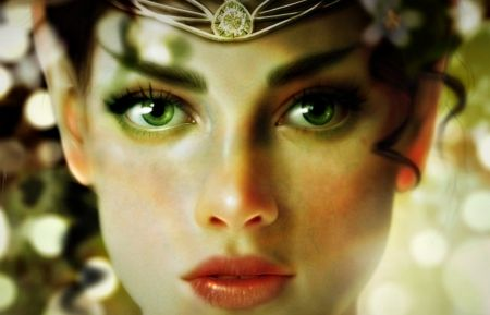 Green Eyes Quotes | Elf Fantasy Green Eyes