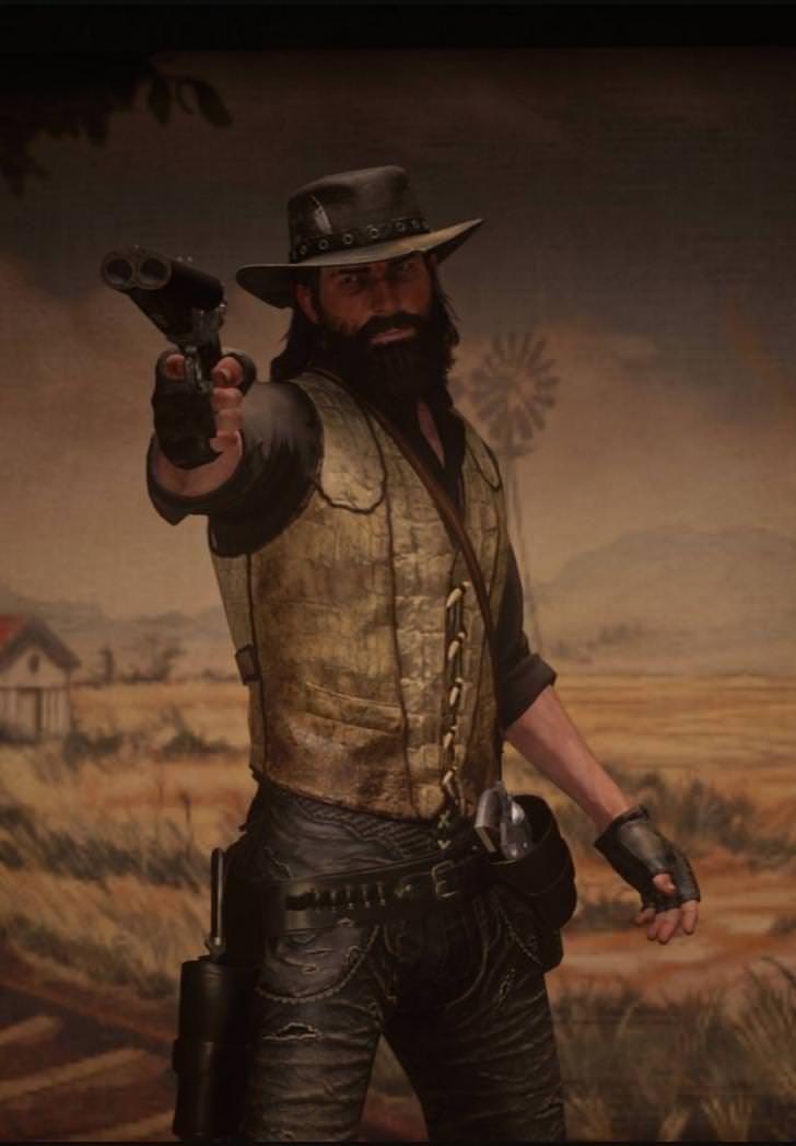 Desert Bounty Hunter Red Dead Redemption Ii Red Dead