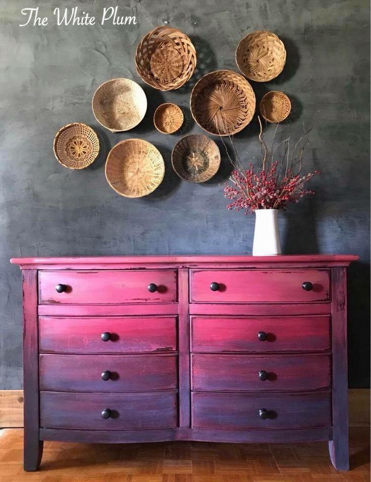 Beautiful Ombre dresser