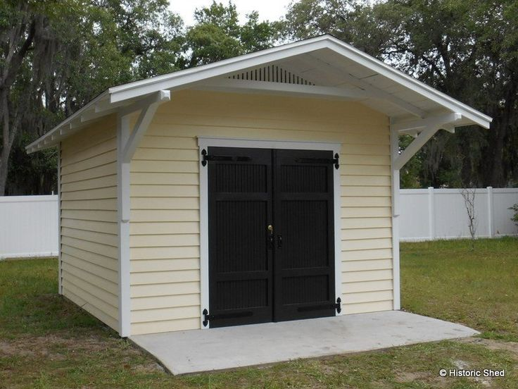 gable shed with roof extension - Garden Sheds Florida