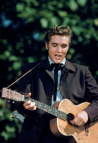 Elvis Presley - one of the most handsome men ever.