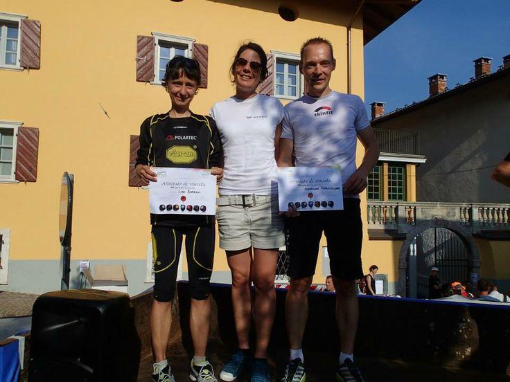 WearIT with Vigolana Trail winners Lisa Borzani, Alexander Rabelsteiner! #vigolanatrail #lisaborzani #alexanderrabelsteiner