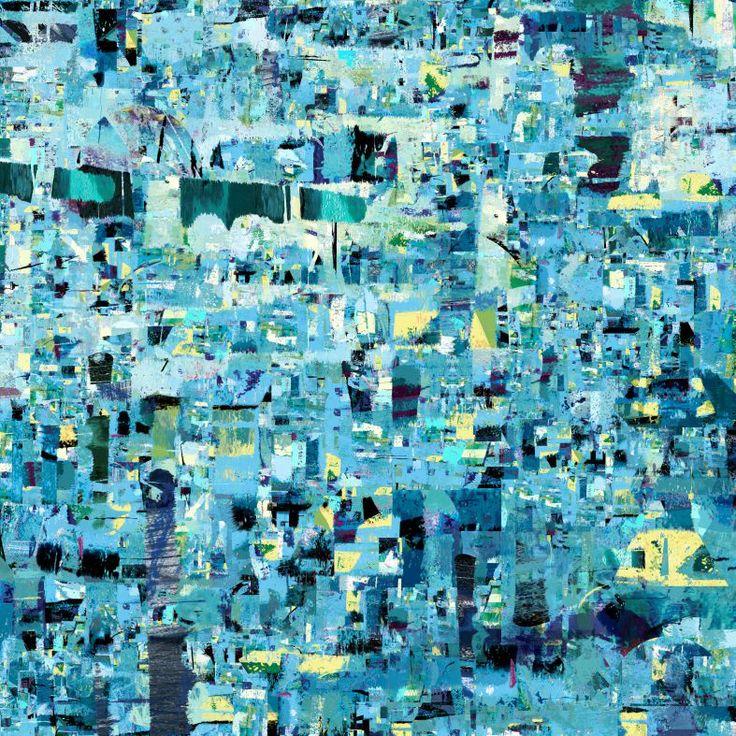 """Sonata Morska- Andante. Jedna z grafik z cyklu """"Sonaty Graficzne"""" inspirowanego muzyką. #graphic #art #digital #print"""