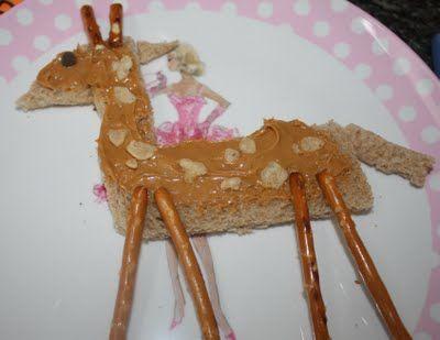 The Giraffe That Walked To Paris - Giraffe Snack