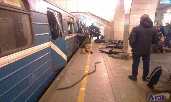 Explosion in St Petersburg metro; several injured