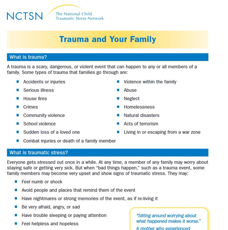Trauma and Your Family (2011)