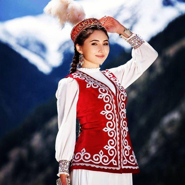 казахская одежда с картинками гид