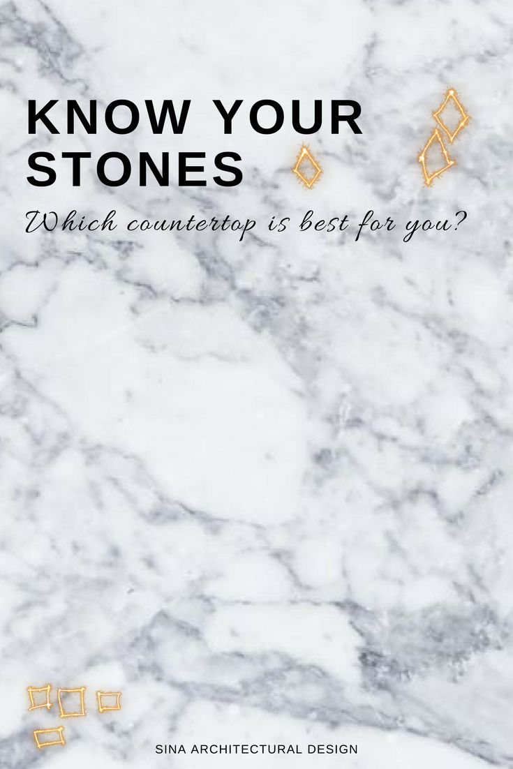 Struggling to decide between marble or granite? Quartz or slate? Here is everything you need to know about the different stone countertop options