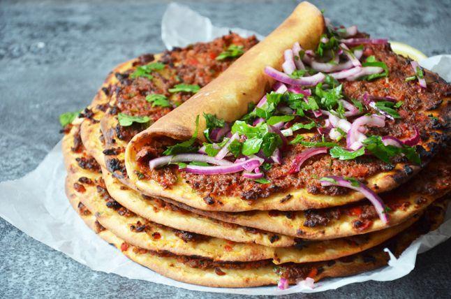 Kublanka vaří doma - Lahmacun