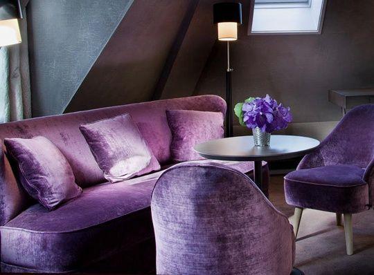 74 best my purple sofa <3 images on pinterest | purple velvet