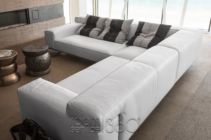 114 best images about sectional sofas on pinterest italian leather saint tropez and leather - Sofa roller ...