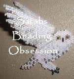 snowy owl - semi-3D