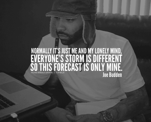 Everyone's storm is different