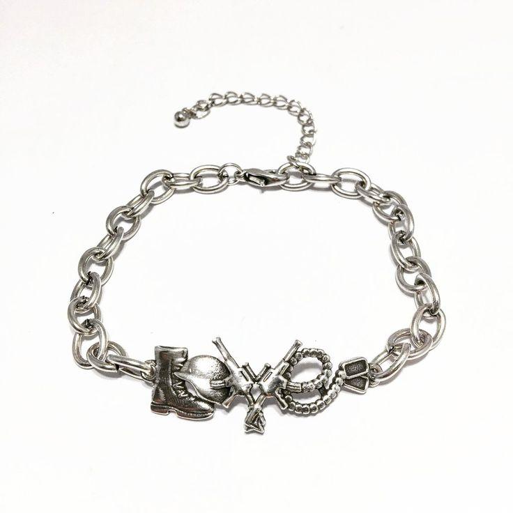 US Army Soldier Love Bracelet - US Military Jewelry