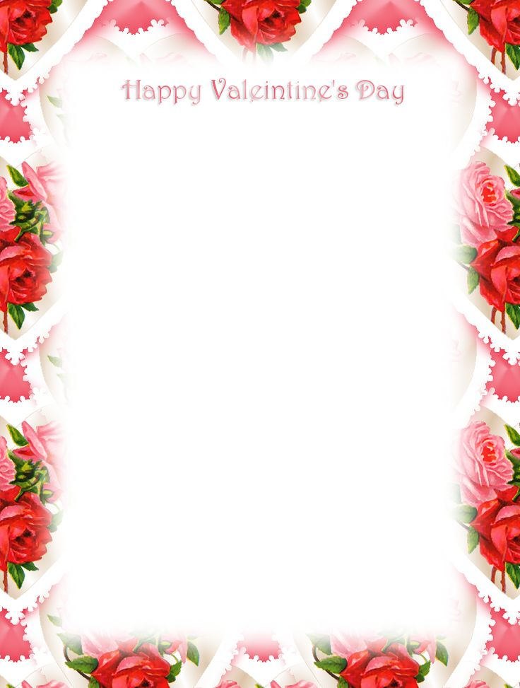 Free Valentines Stationery Paper Unlined Stationery