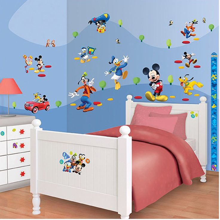 Mickey Mouse Room Decor Kit (58 buc)