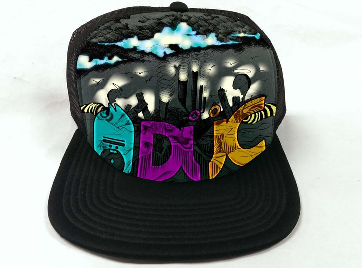 TRUCKER CAP art needed. Funky, edgy inspiration wanted. We are aTENNIS co.   99designs