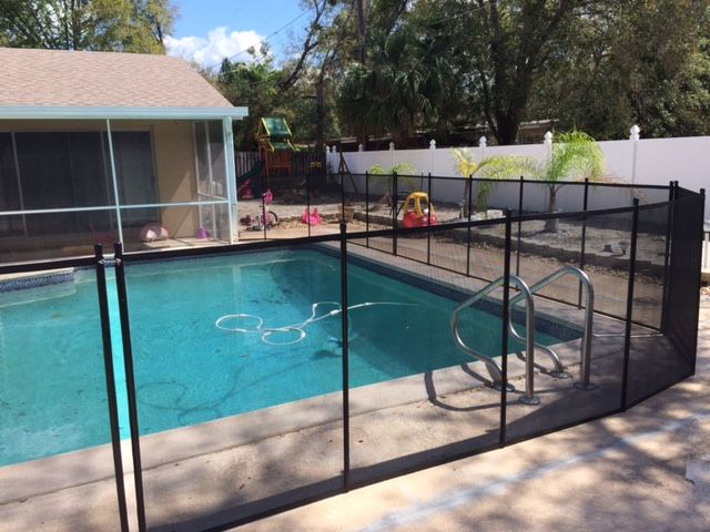 Pool Fence Winter Park Fl By Life Saver Pool Fence Of Central Fl 407 365 2400 Poolfencewinterpark Poolsafety Childsa Pool Pool Fence Central Florida Pools
