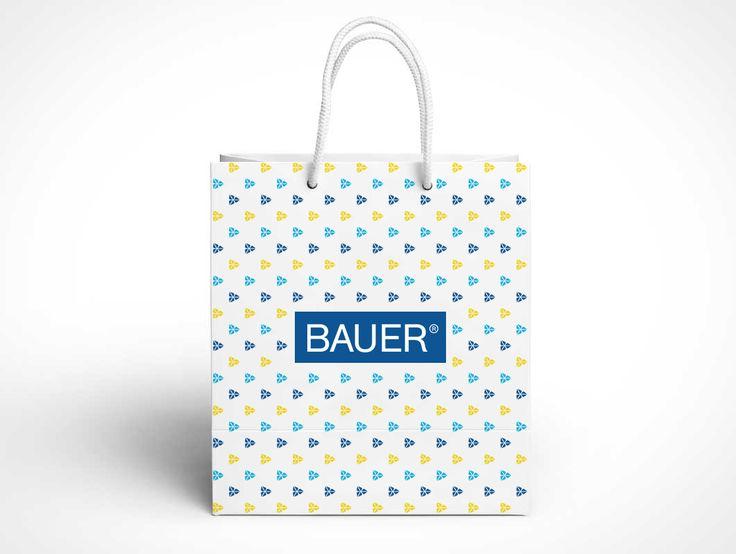 Фирменный пакет для компании BAUER