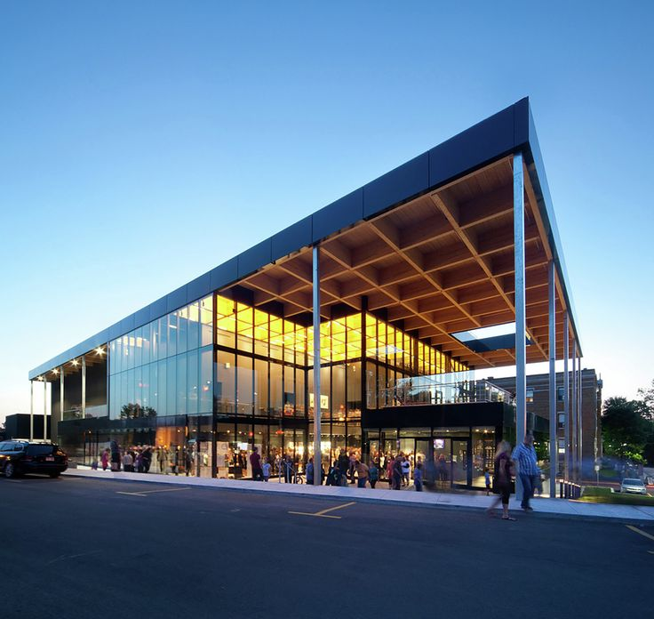 Gallery - Mont-Laurier Multifunctional Theater / Les architectes FABG - 3
