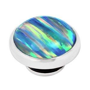 BUTTON-LIKE POPS KAGI GEMPOPS NORTHERN LIGHTS STERLING SILVER LAB OPAL SET - Jons Family Jewellers