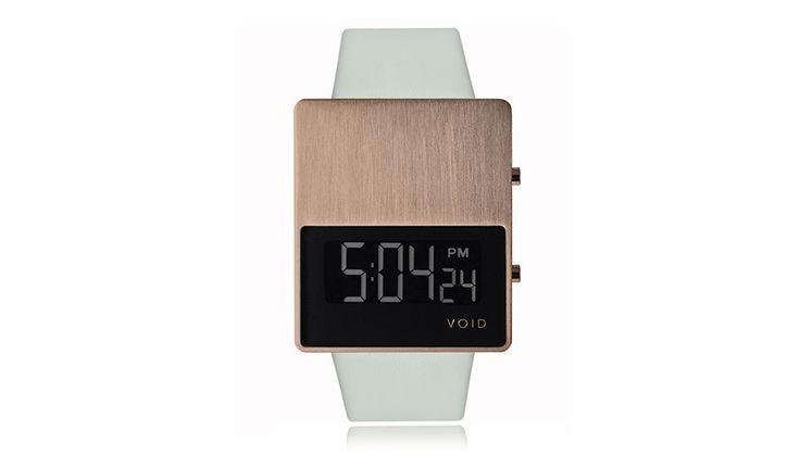 V01EL LCD Watch - Copper/Grey by VOID Watches   MONOQI #bestofdesign