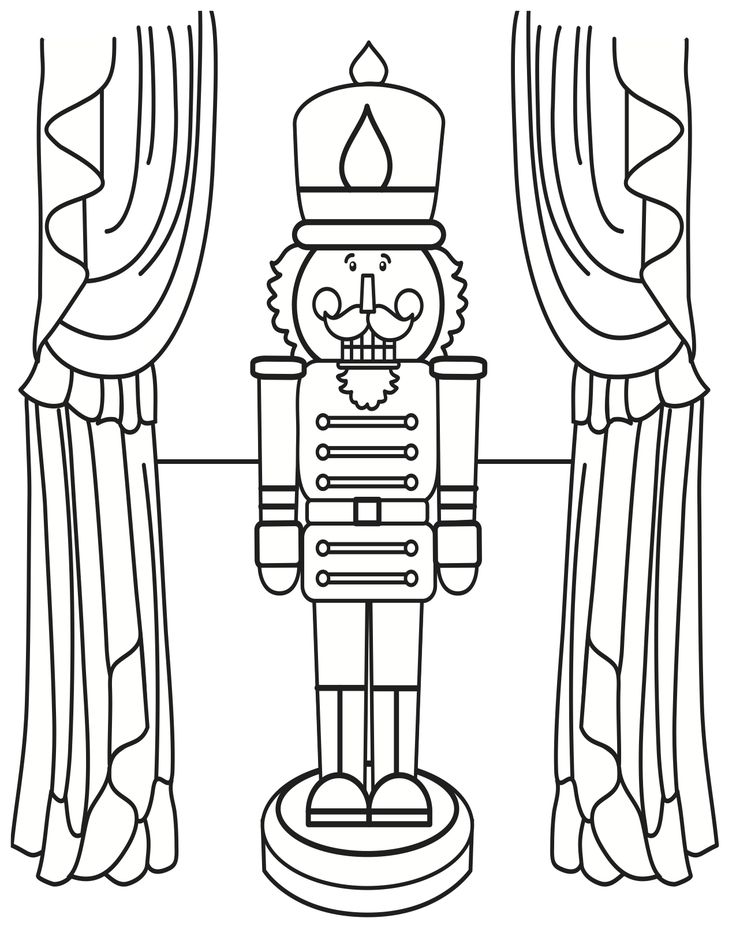nutcracker clare coloring pages - photo#20