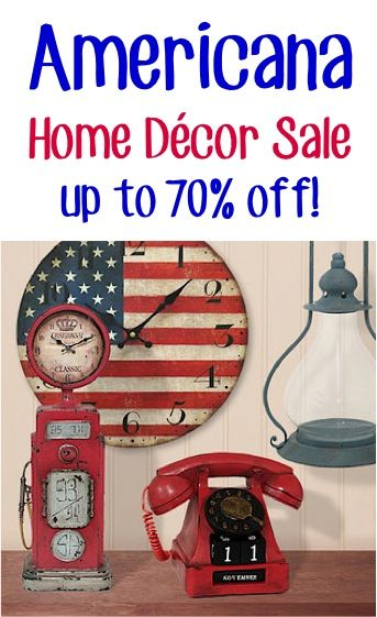Americana Home D Cor Sale Up To 70 Off Patriotic American
