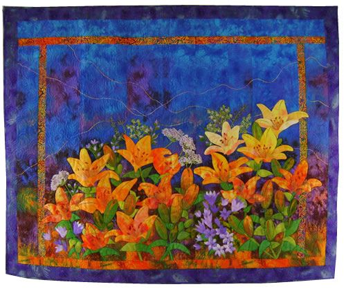 Mary Transom - Quilt Artist Pot of Gold