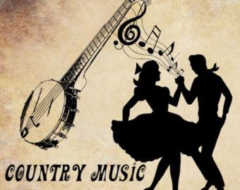 country+western+dance+Silhouettes | country music png ...