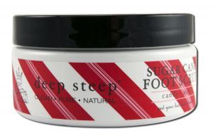 deep steep fave: deep steep Sugar Cane Foot Scrub on sale $11.66 conditions and nourishes skin while exfoliating to reveal soft, smooth skin. Enjoy the soothing effects of Peppermint essential oil while revitalizing the senses. cruelty free