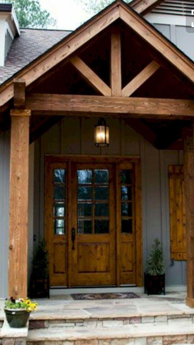 61 Beautiful Farmhouse Front Porch Decorating Ideas