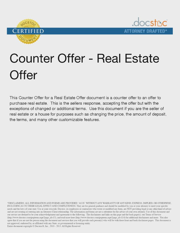 Real Estate Offer Letter Template Absolute Word Format