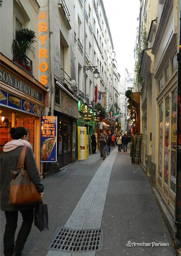 bastille quarter paris france