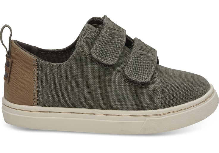 undefined Cypress Coated Linen Tiny TOMS Lenny Sneakers