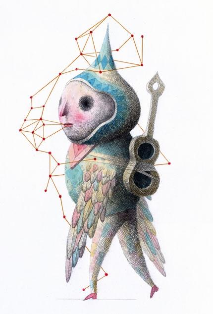 Songs, 2010, by Nick Sheehy2D Art, 3D Character, Dic Prints, Sheehy Httpwwwshowchickencom, Chimera Illustration, Graphics Design, Character Design, Nicholas Sheehy, Nick Sheehy