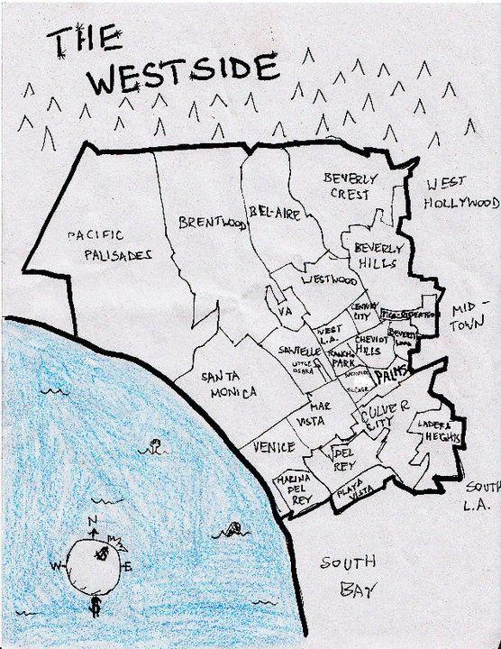 Los Angeles Map Location.Pin By Sadik Perez On Los Angeles California California Los