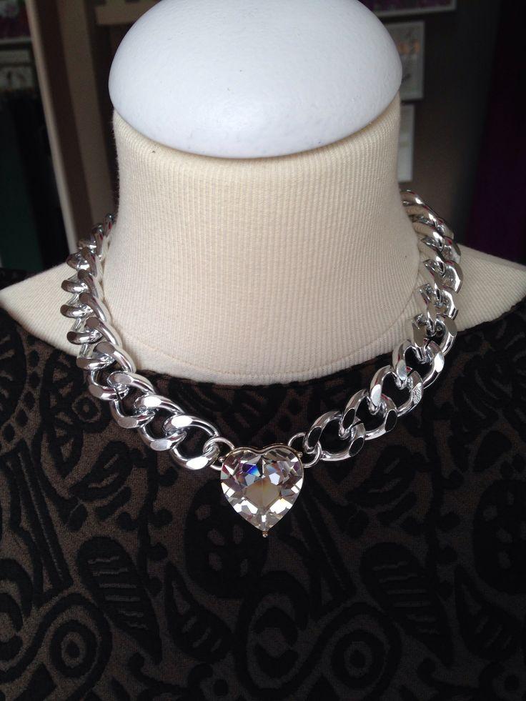 MAXI CHAINS collar